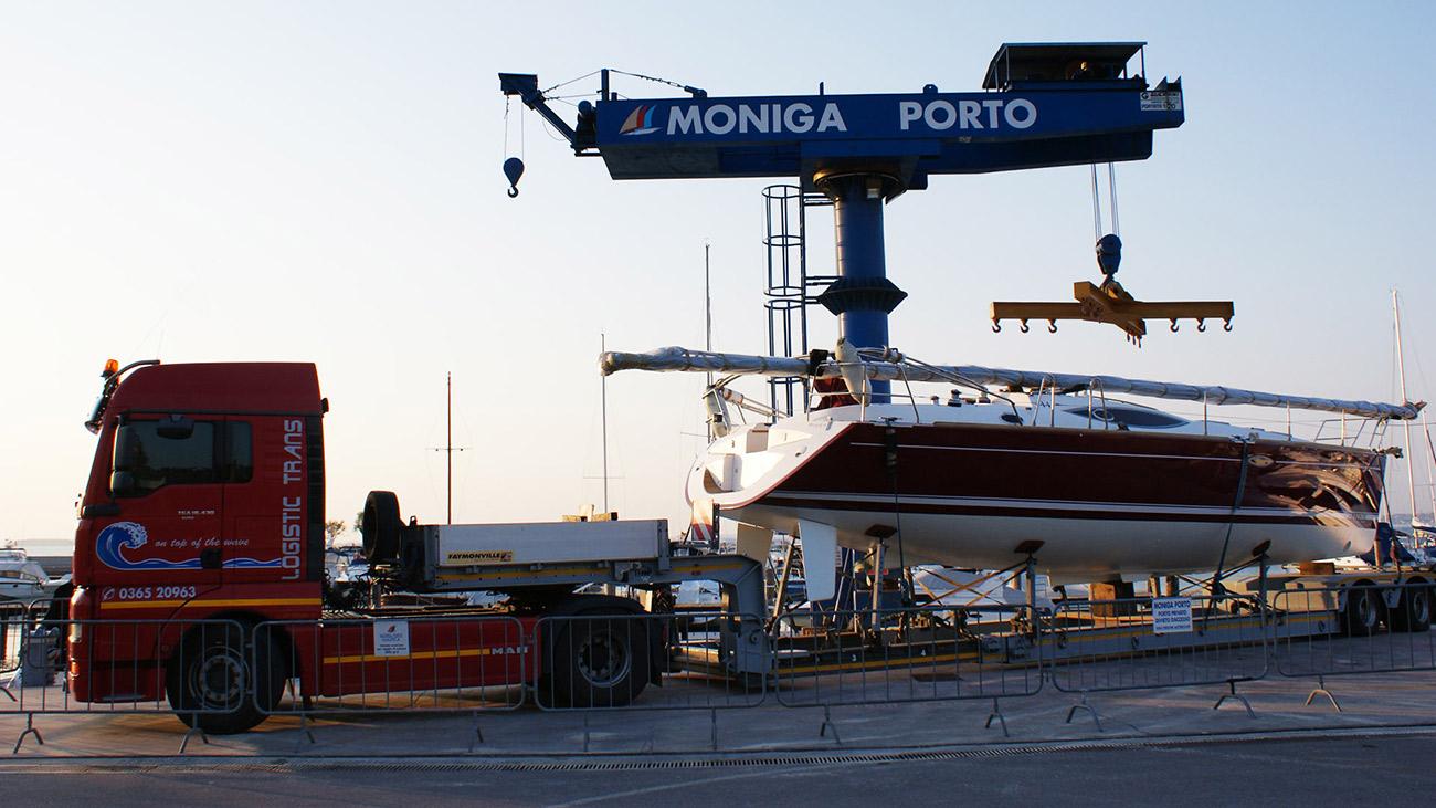 Trasporto Barche a Vela