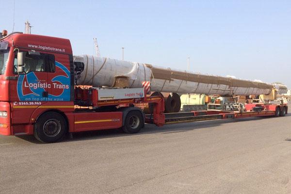 trasporto e movimentazione merci